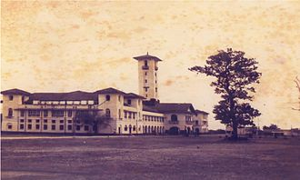 Science and technology in India - The office of the Hijli Detention Camp (photographed September 1951) served as the calling of IIT Kharagpur.