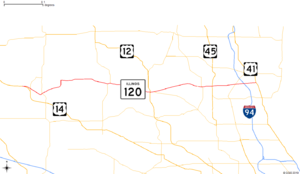 Illinois Route 120 - Image: IL 120