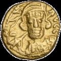 INC-2073-a Малоформатный солид. Константин IV Погонат. Ок. 668—685 гг. (аверс).png