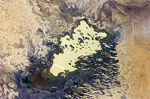 Lake Fitri - Image: ISS 30 Lake Fitri, Chad