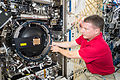 ISS-42 Terry Virts works with the Droplet Combustion Apparatus.jpg