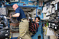 ISS-44 Scott Kelly and Kimiya Yui in the Destiny lab.jpg