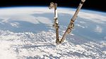 ISS-51 Northeastern United States with Canadarm2.jpg