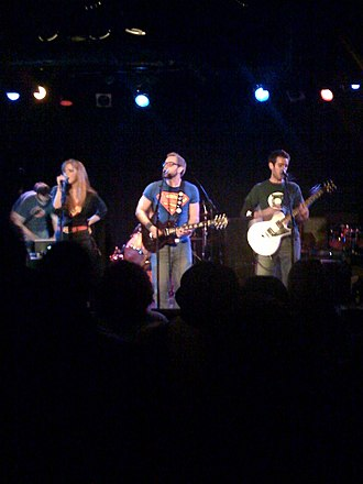 Geek rock - I Fight Dragons performing at Martyrs', Chicago in 2009.