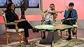 """I Jaspers al talk show """"Il Salotto di Leandra"""".jpg"""