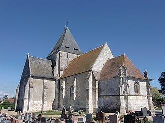 Illeville-sur-Montfort - The church of Saint-Médard in Illeville-sur-Montfort