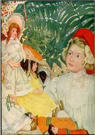 Mary Augusta Dickerson - Mary Dickerson Donahey's 1914 The Adventures of a Happy Dolly book cover