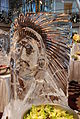 Indian Chief Ice Sculpture -- Formal Brunch Aboard the Celebrity Equinox, 12-09-2011 (6857449723).jpg