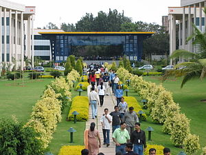 Conceptual economy - Infosys Bangalore, driving outsourcing to India