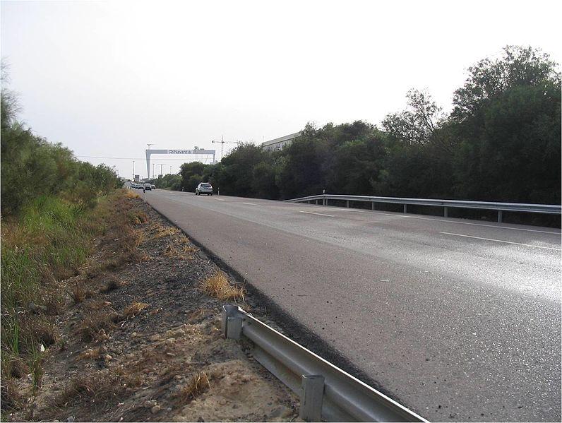 File:Inicio del tramo Duplicación de la N-443, Enlace de Puerto Real - Río San Pedro. - panoramio.jpg