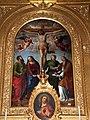Innocenzo da imola, crocifissione e santi, 1539.JPG