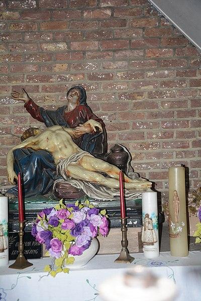Interieur Kapel Onze-Lieve-Vrouw-van-Zeven-Weeën, Oude Vorstsebaan, Meerhout