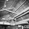 Interieur drooghuis op zolderverdieping, kapconstructie - Dongen - 20336562 - RCE.jpg