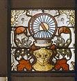 Interieur glas in loodraam (detail), tijdens restauratie in atelier Bogtman - Gouda - 20081894 - RCE.jpg