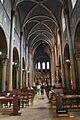 Interior of Abbaye de Saint-Germain-des-Prés, Paris July 2014.jpg