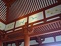 Interior of Daigokuden, Heijo palace, with Azure Dragon.jpg