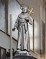 Interior of San Francesco della Vigna (Venice) - Choir - Wood statue of St. Francis by Girolamo Campagna.jpg