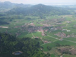 Inzell from the southeast
