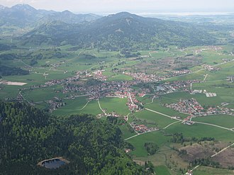 Inzell - Inzell from the southeast