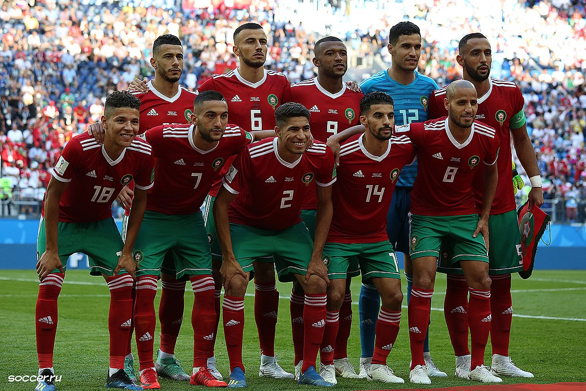 best website a18f1 8544d Morocco at the FIFA World Cup - Wikipedia