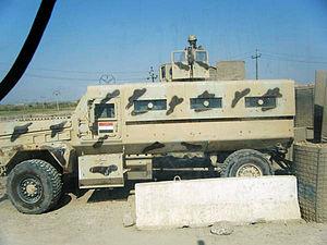 Iraqi Light Armored Vehicle - A MRAP ( Iraqi Light Armored Vehicle) in the service of the Iraqi army.