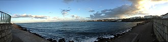 Irish Sea - The Irish sea as seen from the pier at Dún Laoghaire harbour
