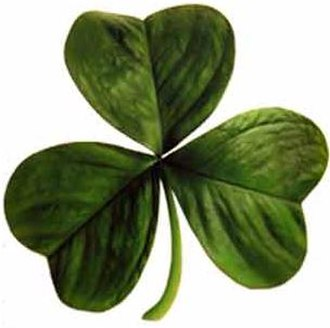 Saint Patrick's Day - According to legend, Saint Patrick used the three-leaved shamrock to explain the Holy Trinity to Irish pagans.