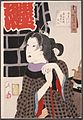 Irritable- The Wife of a Fireman in the Kaei Period (1848-1853) LACMA M.84.31.305.jpg