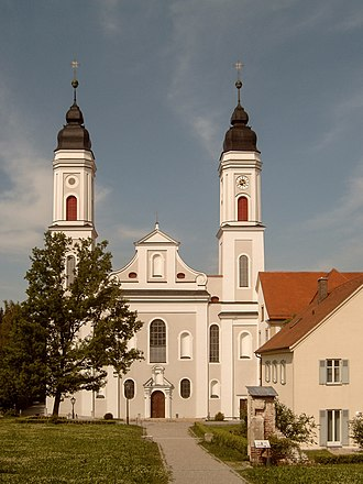 Irsee - Irsee, church: Klosterkirche