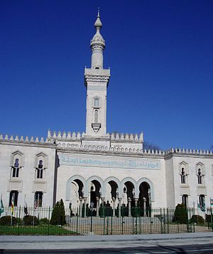 Islam in the United States - Islamic Center of Washington at Washington, D.C. was opened in 1957.