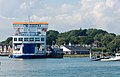 Isle of Wight ferry at its berth, Lymington - geograph.org.uk - 1376464.jpg