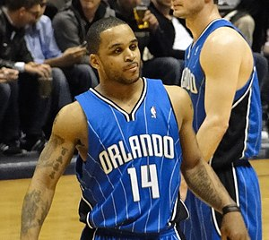 Orlando Magic - Jameer Nelson spent 10 seasons with Orlando from 2004-2014.