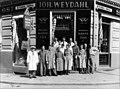 J. Weydahls kolonialforretning - Eiriks gate 2 - ca. 1936 - Anders Beer Wilse - Oslo Museum - OB.y7240.jpg
