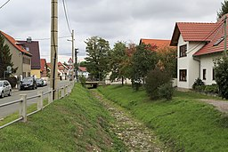Am Weißfrauenbach in Erfurt