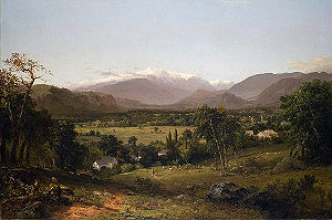 White Mountain art - Image: J Kensett Mount Washington (JJH JFK001)