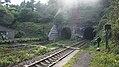 JR Muroran-Main-Line Koboro Station Premises railroad crossing.jpg