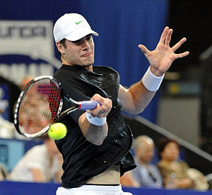 2011 Hopman Cup - John Isner was part of the winning USA team along with Bethanie Mattek-Sands