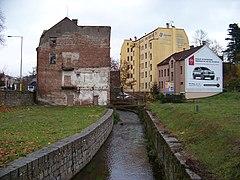 Jablonec nad Nisou, Nisa, z Koželužské.jpg