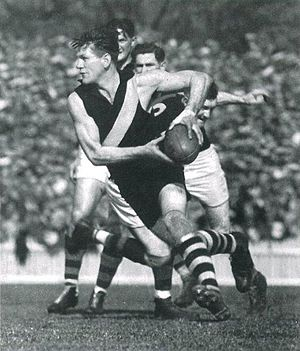Richmond Football Club - Richmond legend Jack Dyer