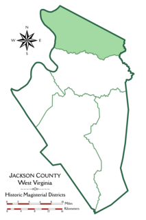 Grant District, Jackson County, West Virginia Magisterial district in West Virginia, United States