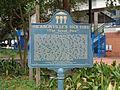 Jacksonville's 1901 Fire historical marker.JPG