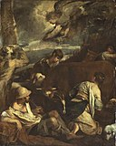 Jacopo Bassano - Annunciation to the Shepherds - 1935.297 - Art Institute of Chicago.jpg
