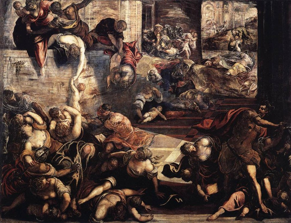Jacopo Tintoretto - The Massacre of the Innocents - WGA22591