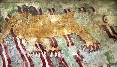 Jaguar Mural, Teotihuacan