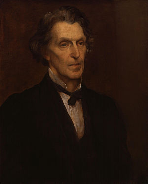 James Martineau - James Martineau -   Replica  (National Portrait Galley) by George Frederic Watts, 1873