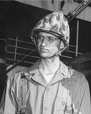 James Roosevelt - Roosevelt as a Marine Corps lieutenant colonel in World War II