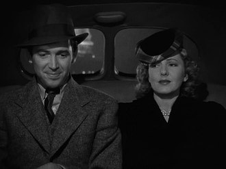 Mr. Smith Goes to Washington - James Stewart and Jean Arthur in a taxicab