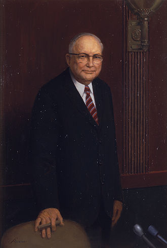 James Eastland - Official U.S. Senate portrait of Senator James Eastland