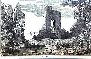 English: Image of the ruins at Jamestown, Virg...