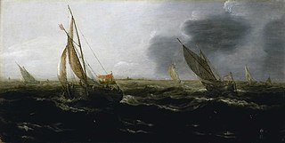 Dutch Vessels in a Strong Breeze
